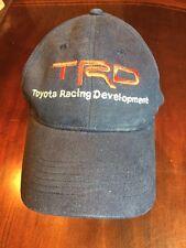 TOYOTA RACING DEVELOPMENT Blue Adjustable Baseball Hat/Cap. TL7