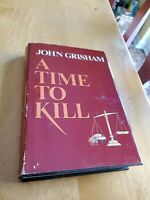A Time to Kill by John Grisham, 1989, 1st edition, bce, hcdj