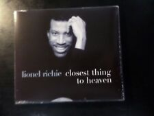 CD SINGLE - LIONEL RICHIE - CLOSEST THING TO HEAVEN