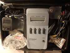 RS medical RS-4i stimulator bundle- pads & accessories in case-untested
