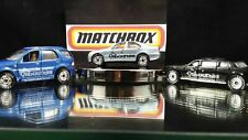 Matchbox Mercedes Cadillac Limousine Kelly Osbournes Real Rubber Tires Lot of 3