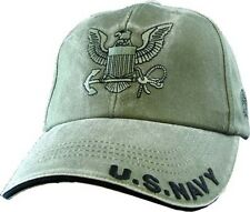 U.S. Navy with Navy Insignia O.D.G Officially License Military Hat Baseball Cap