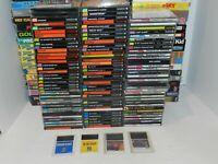 NEC Turbografx 16 TG16 Duo CD HuCard Games Complete U Pick & Choose Video Game