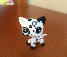 Littlest Pet Shop Custom OOAK LPS Short Hair Cat Flower Hand Painted Figure