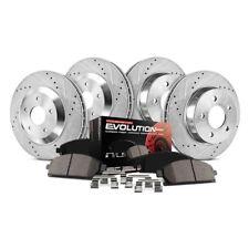 Power Stop TDBK6082 Track Day Front Brake Kit Brake Rotors and Brake Pads