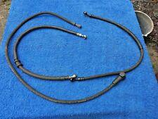 Honda CX500 Turbo CX650 TurboGenuine complete Front brake hoses