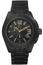 NEUF GUESS GC x76009g2s Homme XXL blackout Céramique Watch - 2 ans de garantie