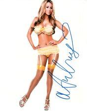 Aubrey O'Day Signed 8x10 Photo #37 Singer Playboy Blender Celebrity Apprentice 5