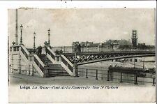 CPA-Carte Postale-Belgique-Liège-Pont de la passerelle -Tour St Pholien-1903- VM