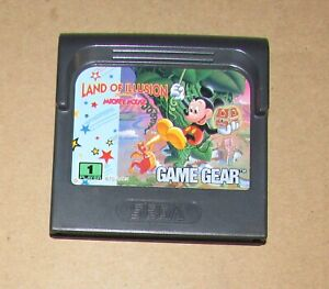 Land of Illusion Starring Mickey Mouse Sega Game Gear Fast Shipping Authentic