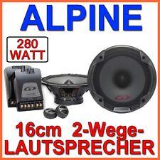 ALPINE spg-17cs 16cm ALTAVOZ 2 vías sistema Cajas HIFI de coche Producto NUEVO