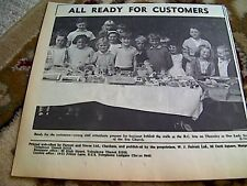 67-5 ephemera 1964  r c fete our lady star of the sea church children margate