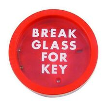 Glendenning Emergency Break Glass for Key Holder Red Box