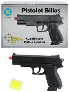Kugelpistole - Erbsenpistole - Softair mit Magazin- Spielzeugpistole