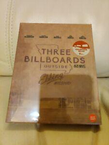 Three Billboards Bluray Steelbook, Fullslip, New/Sealed,  Weet