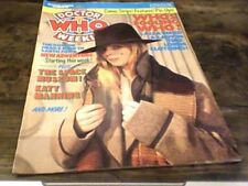 DOCTOR WHO WEEKLY No 19 MARVEL COMICS 1980 LALLA WARD KATY MANNING THE DALEKS