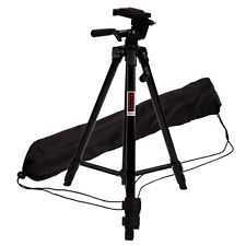 "New 48"" Practical Camera Tripod Stand 3 Section Leg for Canon Sony Black"
