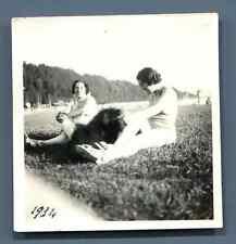A la campagne, 1934  Vintage silver print  Tirage argentique d'époque