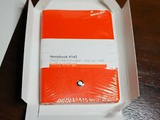 Montblanc Notebook 116226 Fine Stationery #145 Lucky Orange - Elegant Soft Cover