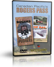 Canadian Pacific's Rogers Pass Combo: The Last Pushers & CP Rail Conquers Rog...