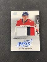 2016-17 UPPER DECK PREMIER MICHAEL MATHESON ROOKIE AUTO PATCH #ed 136/299