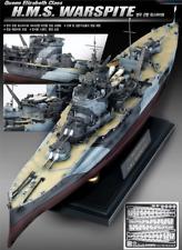 Academy #14105 1/350 Plastic Model Kit Queen Elizabeth Class H.M.S. WARSPITE