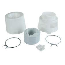 Filtro de café soporte mano filtro tamaño 4 cerámica blanco 18x15x11cm