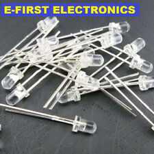 500pcs/1000pcs Round Top Clear LED lights 3MM 5MM red  white blue yellow green
