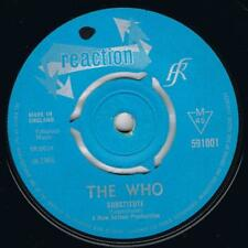 THE WHO Substitute / Waltz for a pig Reaction 591001 Classic mod 45 from 1966