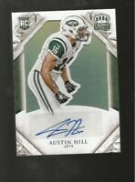 AUSTIN HILL JETS 2015 PANNI CROWN ROYALE Rookie Signatures BRONZE #105/199