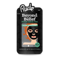 RUDE? Beyond Belief Purifying Charcoal Face Mask (3 Pack)