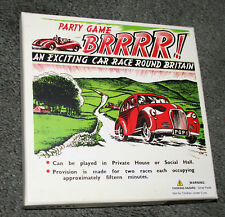Retro Brrrr! Exciting Car Race Around Britain Party Game NOS New Box Sealed 2010