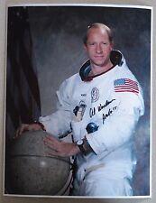 Exact Proof! Al Worden Apollo 15 signed autograph 11x14 Photo NASA Astronaut