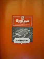 LEAGUE Division One-Arsenal Manchester United v - 23rd APRILE 1955