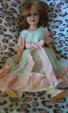 "BEAUTIFUL DEANNA DURBIN 21"" COMPOSITION DOLL .. TAKE A LOOK N BUY NOW !"