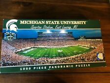NEW Michigan State University Spartans Panoramic Puzzle 1000 Pc Masterpieces