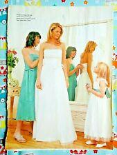 Prima Sewing Pattern. Wedding/Bridesmaid & Flower Girl Dress. Size 10-20 Uncut.