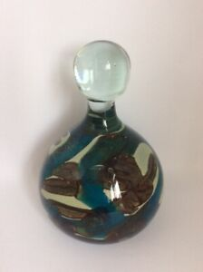VINTAGE MDINA MALTESE GLASS PAPERWEIGHT/DOOR STOPPER 1970'S PREOWNED