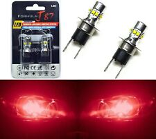 LED 50W H3C 64146BC Red Two Bulbs Fog Light Replacement Show Use Lamp JDM