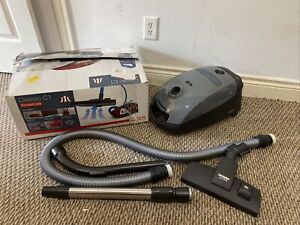 Miele Classic C1 Powerline Pure Suction Canister Vacuum Cleaner, Graphite Grey