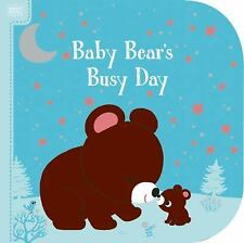 Bright Bks.: Bright Books: Baby Bear's Busy Day by Megan Roth (2016, Board Book)