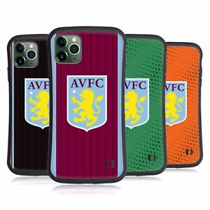 ASTON VILLA FOOTBALL CLUB 2020/21 CREST KIT HYBRID CASE FOR APPLE iPHONES PHONES