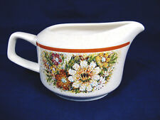 TEMPER WARE by LENOX Magic Garden Floral Creamer Made in USA