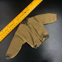 "1/6 WWII US Army Trends Zipper Jacket With Real Pockets For 12"" Male Body Doll"