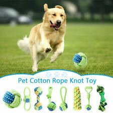 8er Set Hunde Spielzeug aus Seil Kauspielzeug Hundespielzeug Hund Welpen Kauen