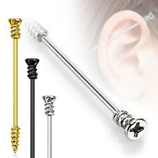 *NEW /& SEALED Industrial Bar Barbell Gold  Novelty Screw Scaffold