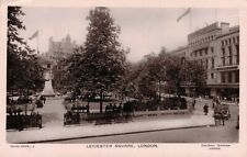 UK Leicester Square London Real Photo 01.86