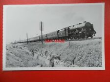 POSTCARD LMS LOCO 46112 SHERWOOD FORESTER AT OLD COLWYN- THE IRISH MAIL