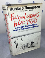 Fear and Loathing in Las Vegas -HUNTER S. THOMPSON 1971 1st First Edition DJ HC