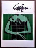 Sergio Sarri - Serigrafia originale del 1973, numerata e firmata